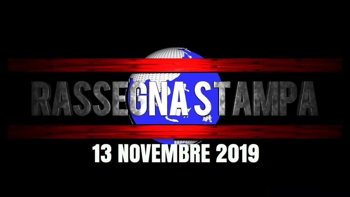 Rassegna stampa dell'Umbria e nazionale del 13 novembre 2019