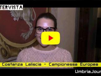 Intervista con Costanza Laliscia campionessa europea, consegna Baiocco d'argento