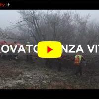 Video delle Operazioni di recupero del corpo dell'uomo scomparso