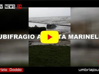 Il nubifragio di Santa Marinella Aurelia direzione Civitavecchia video di Fabrizio Doddo