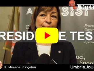 Natale ad Assisi, intervista alla presidente dell'Umbria, Donatella Tesei