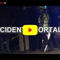 Video del luogo dell'incidente mortale Mantignana Coriciano morto anziano