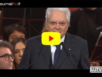 Discorso integrale Presidente, Sergio Mattarella, senti cosa ha detto