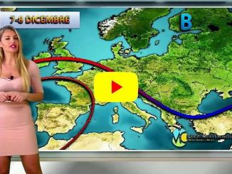 Veronica Ursida, Centro meteo italiano in video, le previsioni del tempo