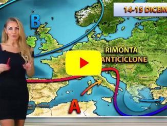 Veronica Ursida, del Centro meteo italiano, arriva anticilone, stop inverno