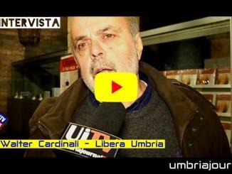Libera, blitz in consiglio Comunale a Perugia, intervista a Walter Cardinali