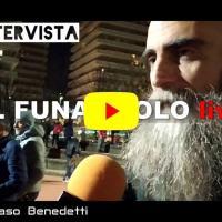Intervista al funambolo, Andrea Loreni, dopo camminata by Tommaso Benedetti