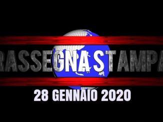 La video rassegna stampa del 28 gennaio 2020, prime di copertina