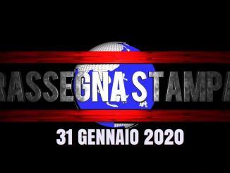 La rassegna stampa in video di venerdì 31 gennaio 2020