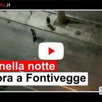 Video di una lite furiosa di una coppia, forse tossici, a Perugia Fontivegge