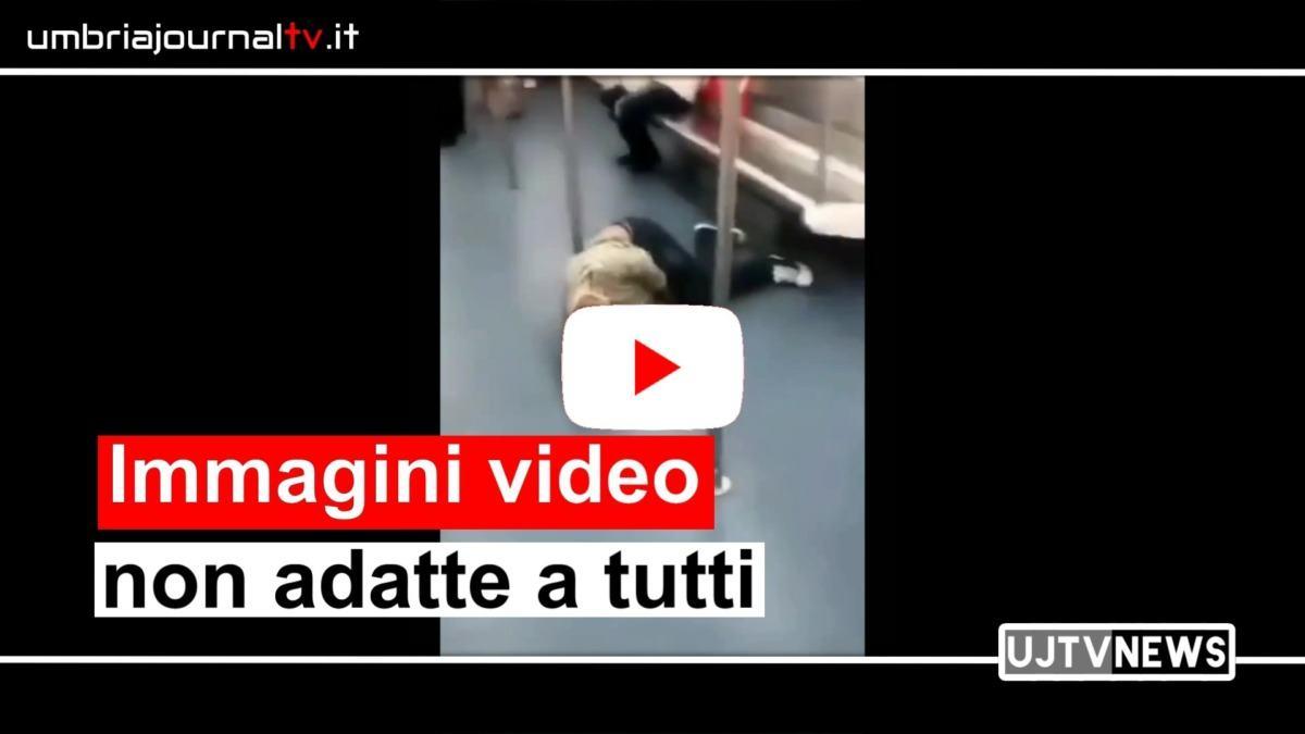 Uno dei video in rete persone che svengono per coronavirus fake o realtà?