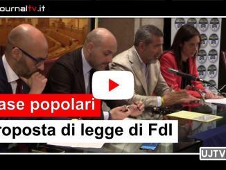 Case popolari,modificare legge regionale, sette proposte di Fratelli d'Italia