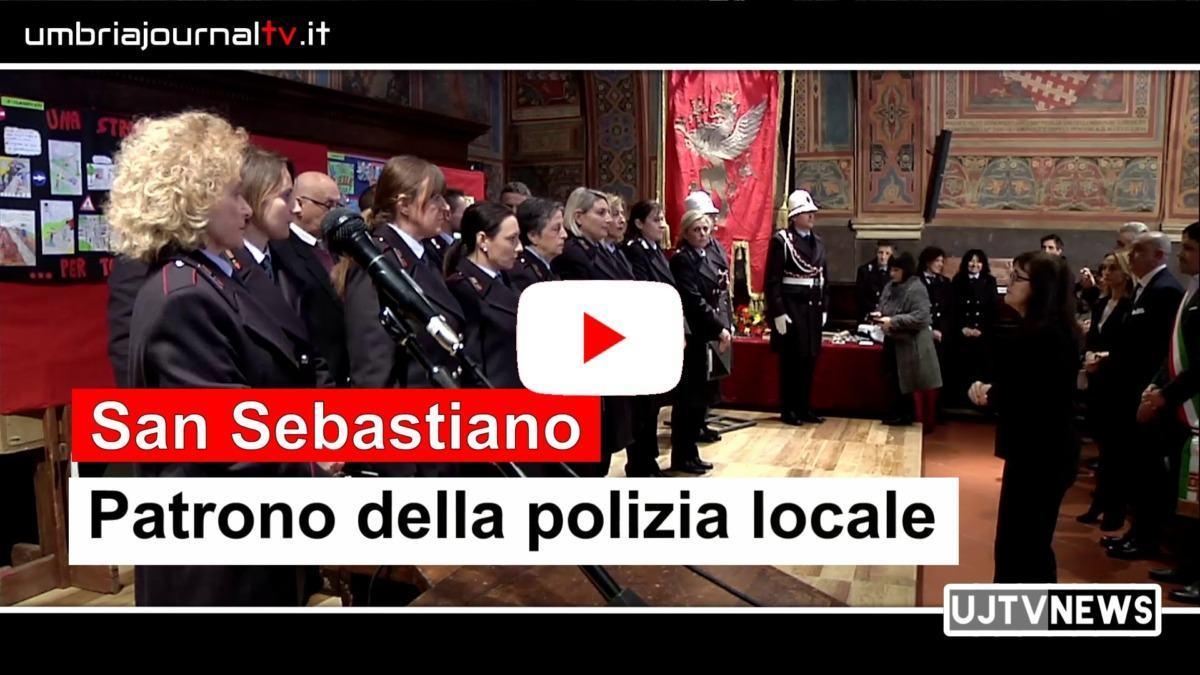 Festa patrono della polizia locale, Caponi: «Ecco quello che facciamo»