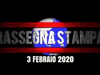 Rassegna stampa di lunedì 3 febbraio 2020 prime di copertina