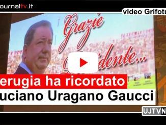 Perugia ha ricordato Luciano Uragano Gaucci intervista al figlio Riccardo