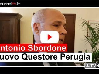 Le prime immagini del nuovo questore di Perugia, Antonio Sbordone