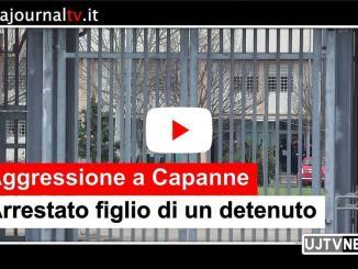 Aggredisce agente a Capanne, arrestato figlio di un detenuto