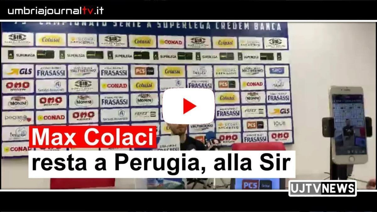 Massimiliano Colaci resta alla Sir intervista video di Alessandra Valentini