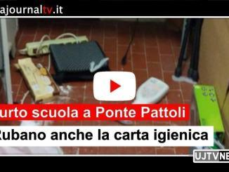 Ponte Pattoli, furto alla scuola infanzia, ladri rubano anche la carta igienica