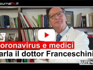 Coronavirus e medici in zona rossa parla il dottor Giulio Franceschinni