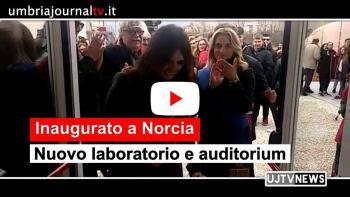 Inaugurato nuovo laboratorio e auditorium grazie a Fondazione italo-americana