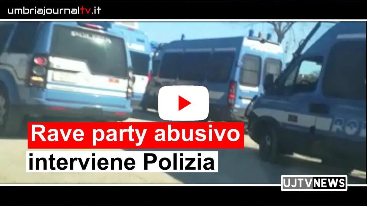 Smantellato un rave party a Giove, cento poliziotti per  riportare l'ordine