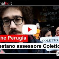 Luca Coletto contestato dalle Sardine, la nostra video intervista