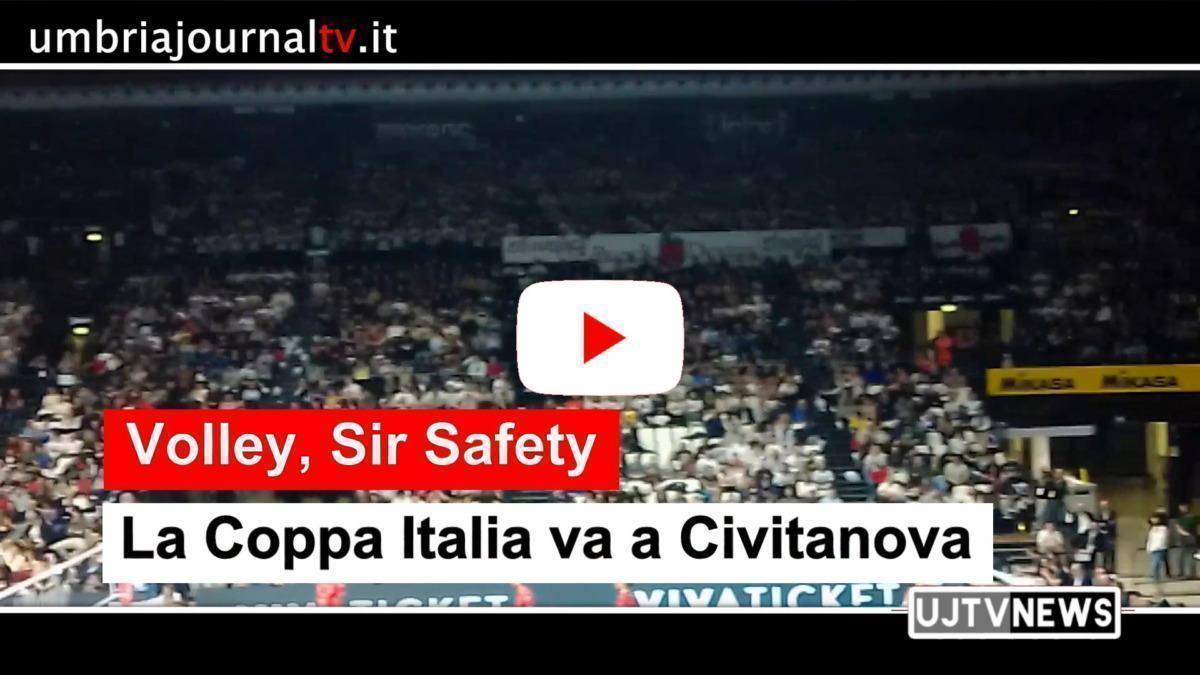 Volley, la Coppa Italia va a Civitanova, Sir cede ma solo al quinto set