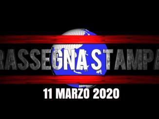 La video rassegna stampa di mercoledì 11 marzo 2020