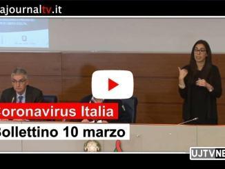 Coronavirus Italia, Borrelli, superati i 10mila contagi