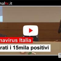 Coronavirus, i contagi i Italia superano i 15mila, ma 1.258 i guariti