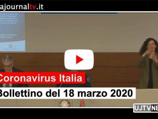 Coronavirus Italia, il bollettino al 18 marzo 2010, oltre mille guariti