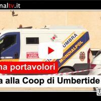 Rapina e assalto portavalori alla Coop di Umbertide, forse sparatoria