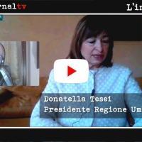 Covid 19 e Umbria, sanità ed economia, intervista con la presidente Donatella Tesei