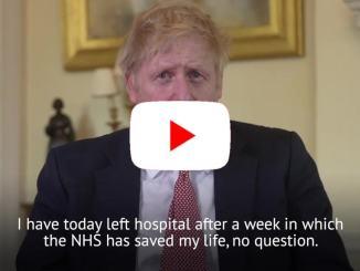 Coronavirus, il premier britannico Boris Johnson è stato dimesso dall'ospedale