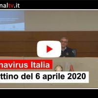 Coronavirus Italia, 6 aprile, calano ancora i ricoverati in terapia intensiva