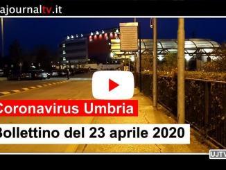 Coronavirus, al 23 aprile in Umbria scendono a 489 gli attuali positivi