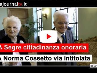 Foligno, cittadinanza onoraria a Liliana Segre, una via Norma Cossetto
