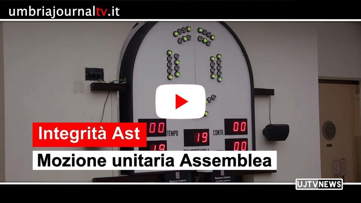 Garantire l'integrità Ast Terni, approvata mozione all'unanimità