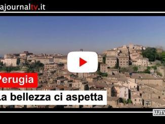 Perugia su Tg4 e Tgcom24 con il video #labellezzaciaspetta