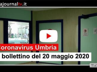 Sotto quota 80 gli attualmente positivi al Covid in Umbria il 20 maggio