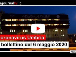 Coronavirus, al 6 maggio in Umbria altri 4 casi positivi in più, 1.119 guariti