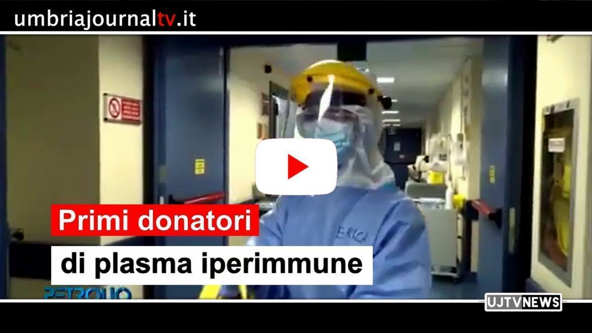 Covid-19, individuati primi donatori plasma iperimmune in Umbria
