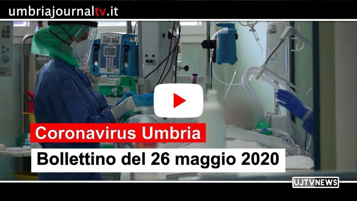 Un solo nuovo contagio in Umbria il 26 maggio, 49 gli attuali positivi
