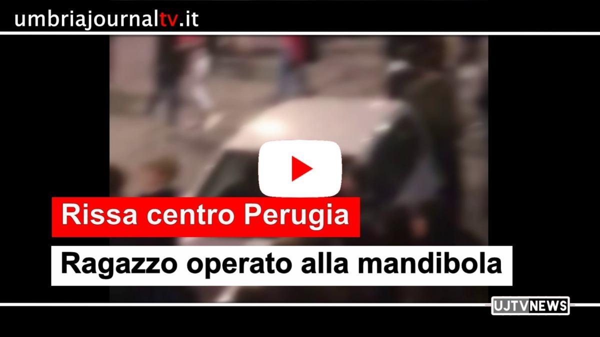 Rissa centro storico di Perugia, sanzioni e test sierologici agli autori