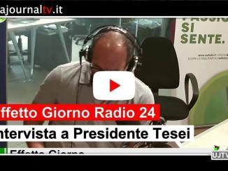 Umbria regione più tranquilla d'Italia, presidente a Tesei a Effetto giorno su Radio 24