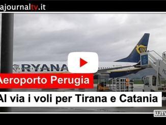 Aeroporto di Perugia, al via i voli per Tirana e Catania