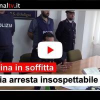 Droga nascosta in soffitta, arresto un insospettabile a Foligno