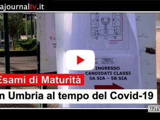 Esami di maturità in Umbria al tempo del covid-19