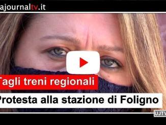 Cancellazione treni regionali, protesta sindacati a Foligno